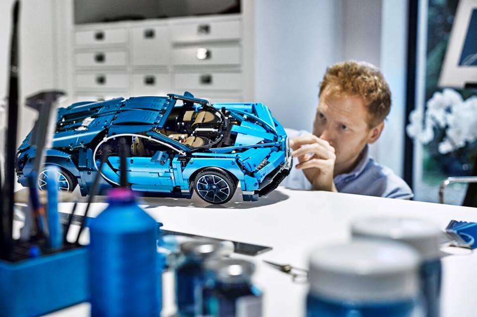 Zoom sur la Lego Bugatti Chiron