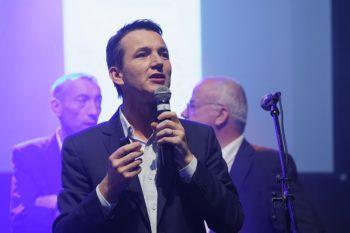 Stéphane André, Directeur Général de RUBIKA, lors des célébrations du 06 octobre 2018.