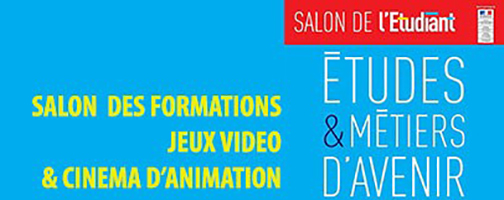 Salon des Jeux Vidéo et de Cinéma d'Animation Paris