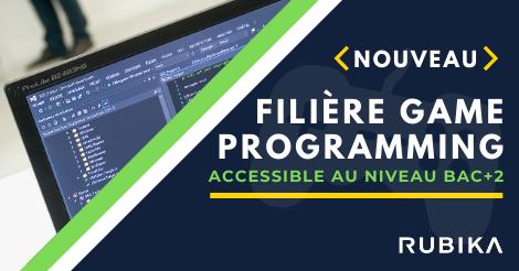 filière game programming