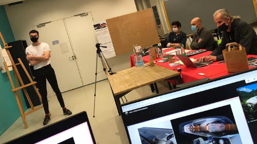 Clap de fin pour le Jury de Diplôme de RUBIKA Design 2020 !