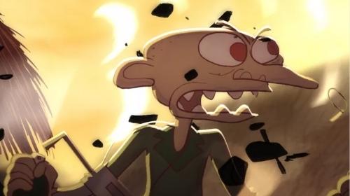 Bastien Dubois (RUBIKA Animation 2011), primé aux Etats-Unis pour «Souvenir Souvenir»